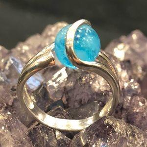 Sterling Silver Interchangeable Swirl Ring